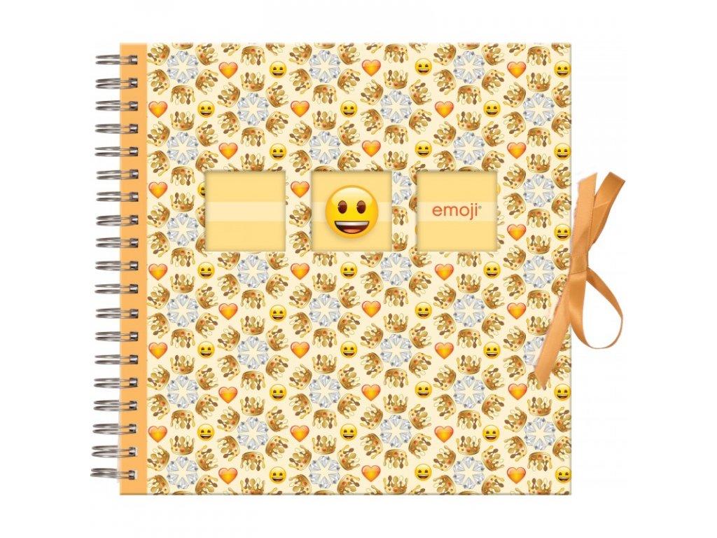 scrapbook fotoalbum emoji 25x25 50s crowns