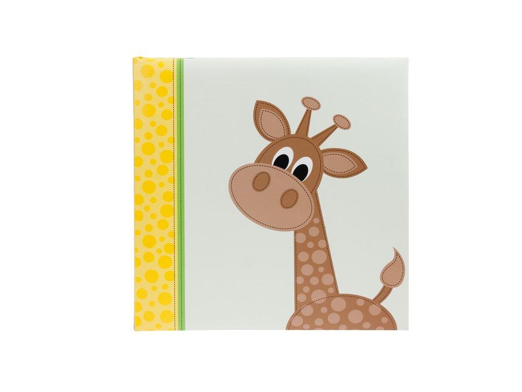 Dětské fotoalbum na růžky 60 stran CUTE žirafa