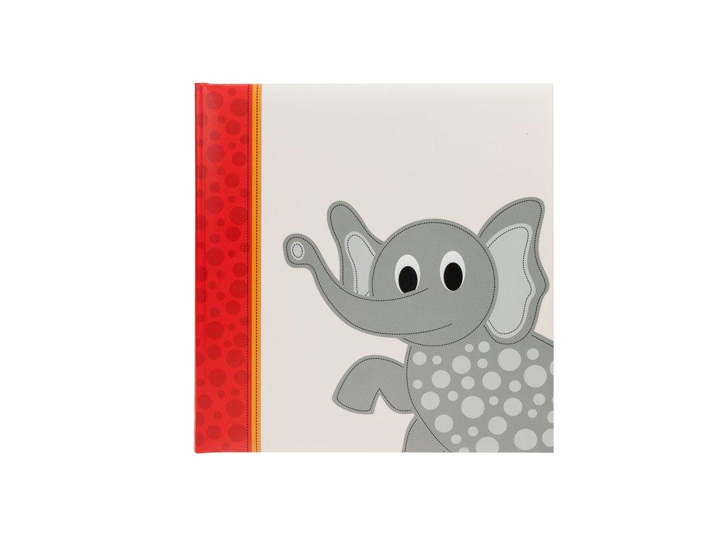Dětské fotoalbum na růžky 60 stran CUTE slon