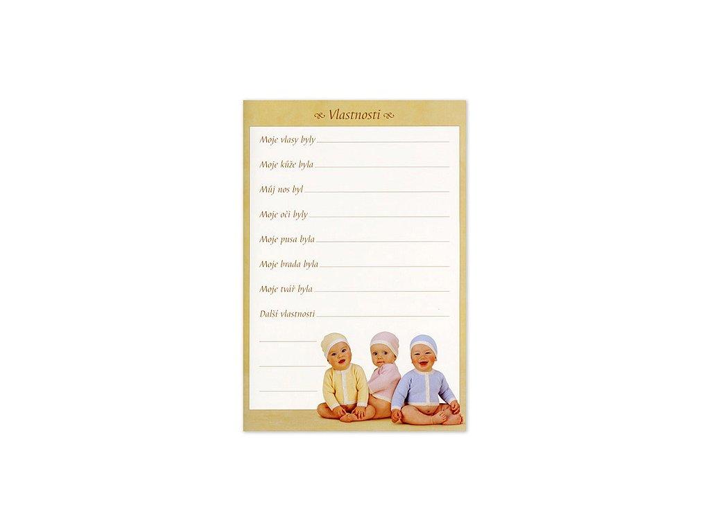 Kniha Mých Prvních Pět Let od Anne Geddes modrá