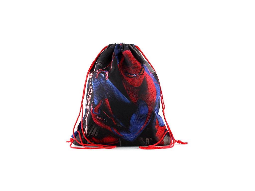 Sportovní vak Spiderman Modrý