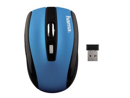 Myš optická AM-7800, petrolejová