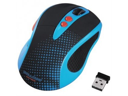 Myš optická bezdrátová Knallbunt 2.0, modrá