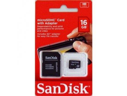Paměťová karta Sandisk Ultra SDHC 16 GB 48 MB/s Class 10