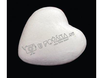 Valentýnské dekorace - srdce 100x100mm POLYSTYREN