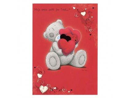 Blahopřání Me to You valentýnské - Moje srdce patří jen Tobě...