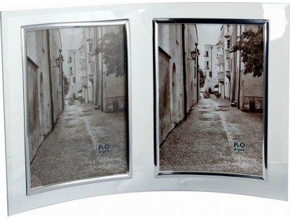 Fotorámeček 2x 13x18 cm výška