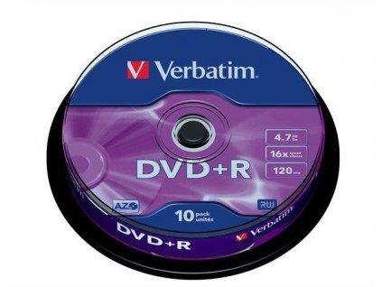 DVD+R Verbatim 10 ks
