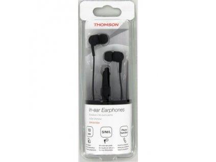 Sluchátka s mikrofonem EAR-3005 THOMSON černá