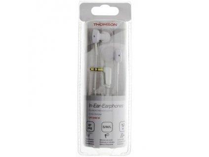 Sluchátka s mikrofonem EAR-3056 THOMSON bílá