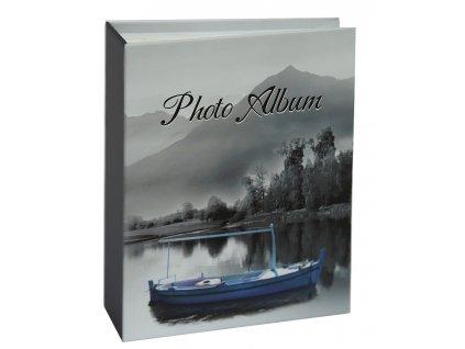 Fotoalbum 10x15/100 LOĎKA modrá