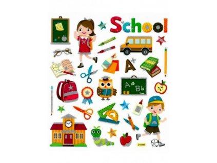 Samolepky DPNK-066 škola