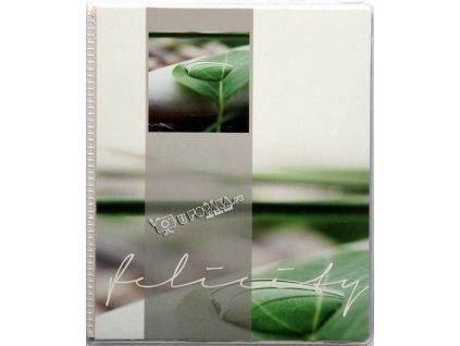 Fotoalbum 11,5x15,5/20 kapky zelené