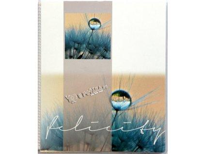 Fotoalbum 11,5x15,5 /20 kapky modré