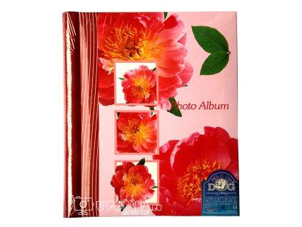 FOTOALBUM  SAMOLEPÍCÍ SA-20S červené květy