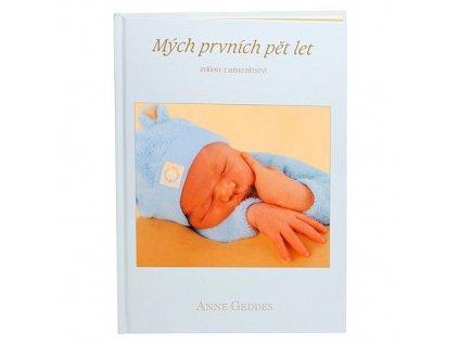 Kniha Mých Prvních Pět Let modrá