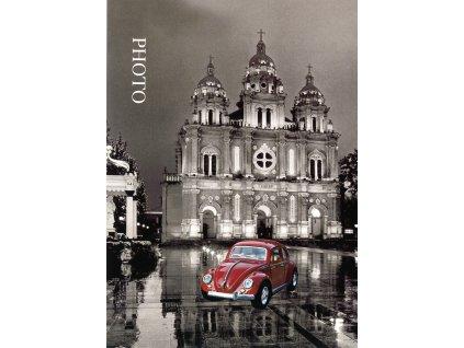 Fotoalbum 10x15/36 auto červené