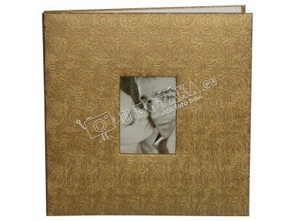 Fotoalbum samolepící zlatý