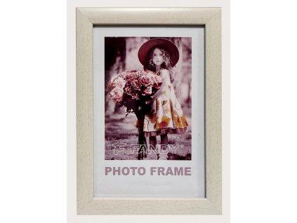 Fotorámeček 15x21 NOTTE 08 plast bílý