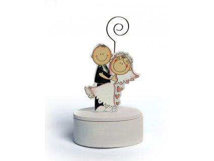 Fotostojánek s krabičkou svatební sólo