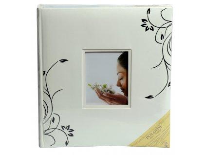 Svatební fotoalbum na růžky 60 stran - LETTY