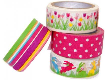 Lepící páska dekorační JARO