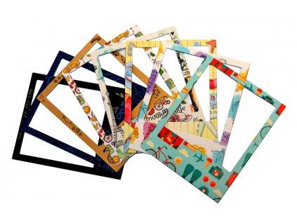 Papírové rámečky s potiskem PD124 07