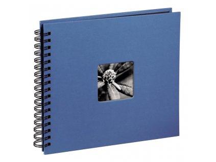 Scrapbook Fotoalbum na spirále pro tvořivou úpravu FINE AZUROVÉ