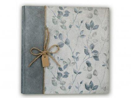 Fotoalbum na růžky 32x32 cm 100 stran GARDEN BLUE