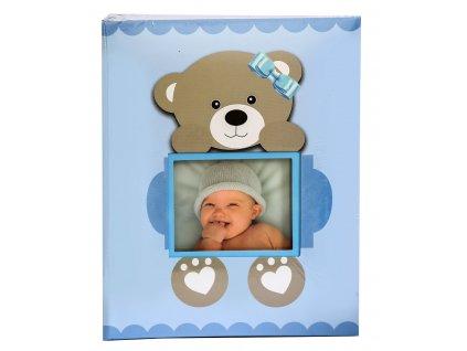 Fotoalbum 10x15/200 - MÉĎA modrý