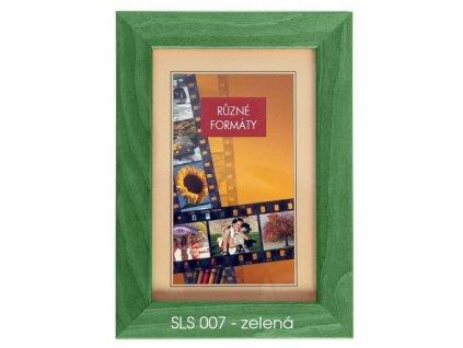 Fotorámeček dřevěný SLS 18x24 - 07 zelený