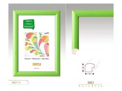 Rám 30x40 EKO H 14 zelený