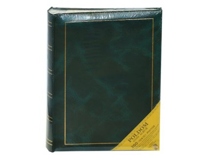 Fotoalbum 10X15/200 MEMO - CLASSIC šité zelené