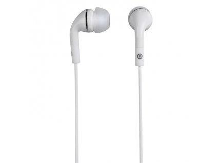 Hama sluchátka Flip, silikonové špunty, bílá