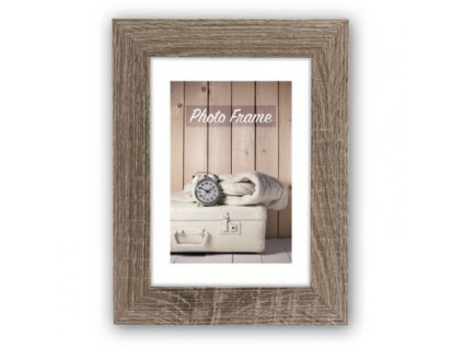 680430 zep wooden photo frame v21575 nelson 5 brown 13x18 cm