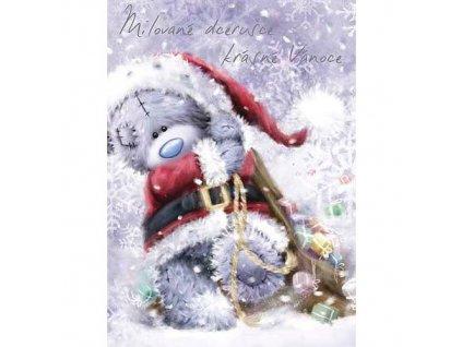Blahopřání Me to You - Milované dcerušce krásné Vánoce