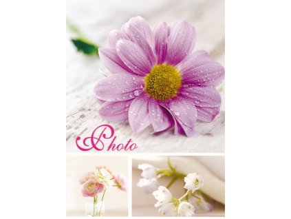 Fotoalbum 15x21/36 - sešit květiny