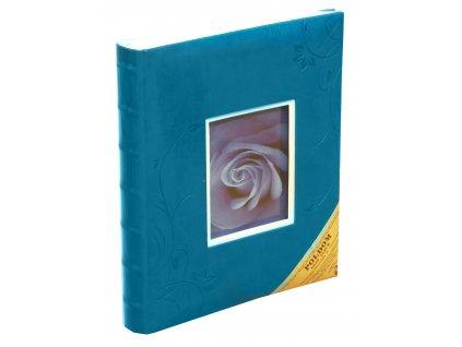 Fotoalbum na růžky 24X29 cm 60 stran KELLY modré