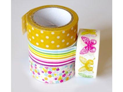 Lepící páska dekorační JARO 2