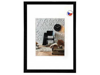 Rámeček dřevěný JESOLO, černý 29,7X42  A3