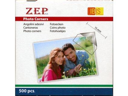 Fotorůžky pro fotografie čiré - 500 ks ZEP