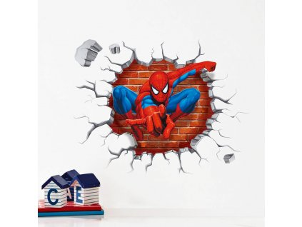 samolepky na zed spiderman 2