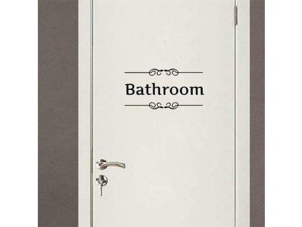 samolepky na zed bathroom 3