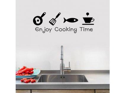 samolepky na zed enjoy cooking 2