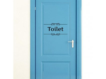 samolepky na zed toilet 2