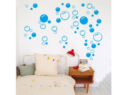 samolepky na zed bubliny 3