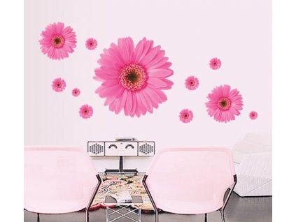 samolepky na zed kvety 4