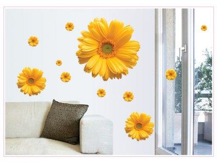 samolepky na zed kvety 2