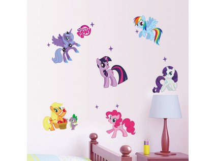 samolepky na zed little pony 6
