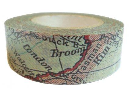 Lepící páska dekorační POLYNÉSIE